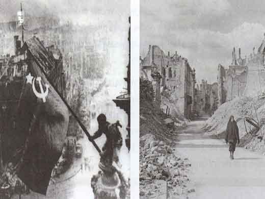 A destruição e a guerra