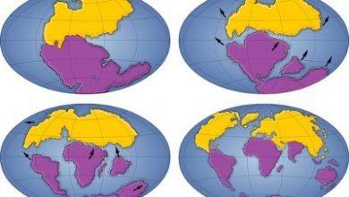 Foto de A formação dos continentes e das grandes estruturas terrestres